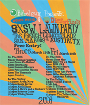 DigForFire.tv & Other Music's SXSW Lawn Party